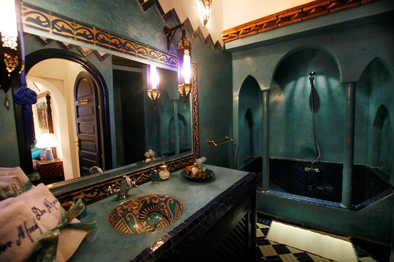 salle de bain marocaine traditionnelle - Salle De Bain Marocaine Traditionnelle